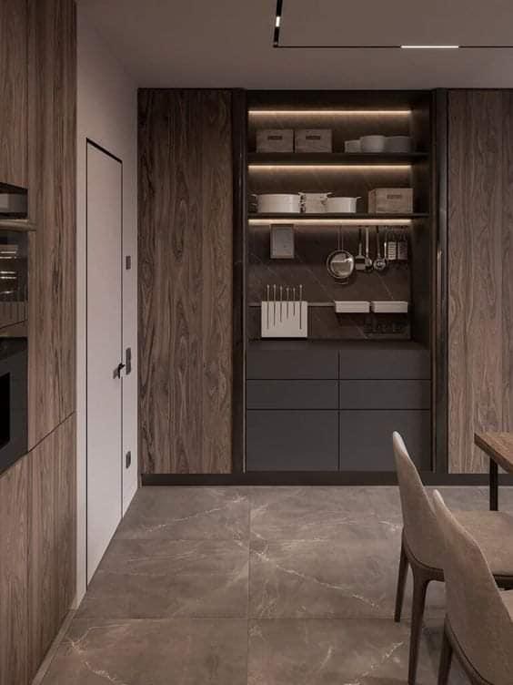 Aménagement de décoration d'intérieur et cuisine..
