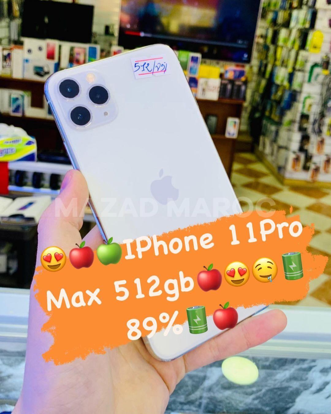 IPhone 11 Pro Max 512gb Garanti 100%