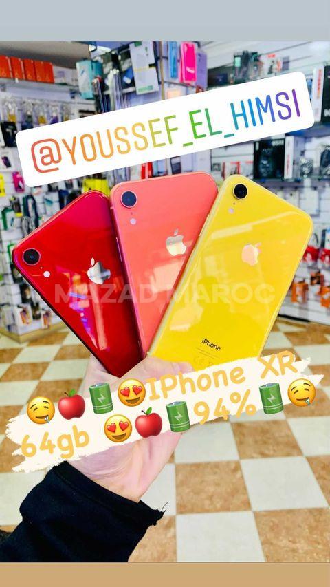 Vente iPhone XR 64gb 95% Garanti 100%
