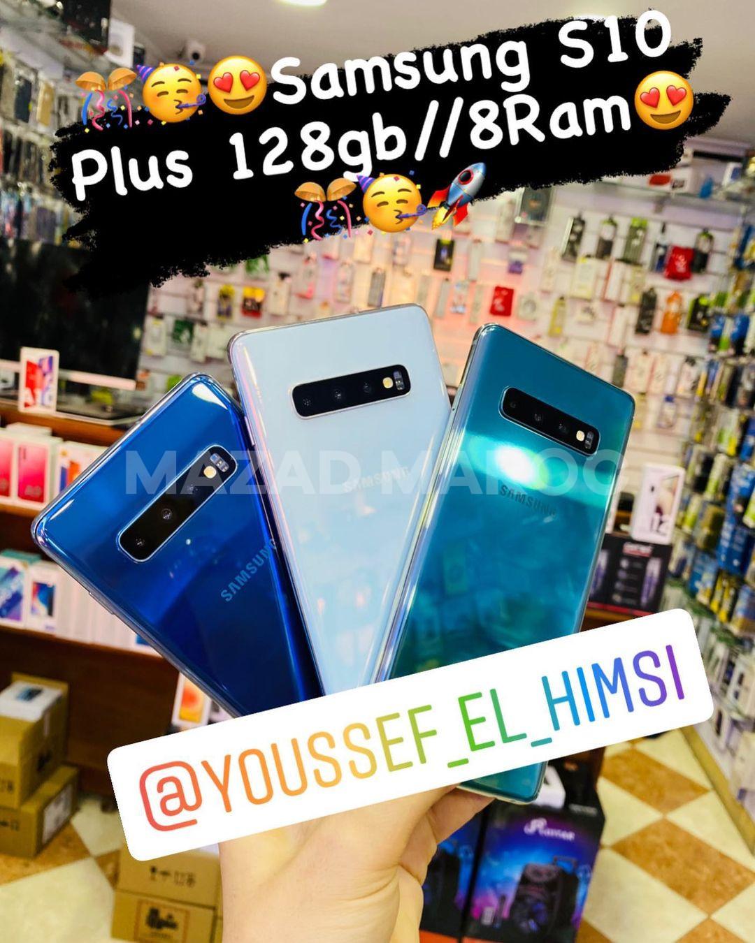 Vente Samsung S10 plus 128gb 8RAm