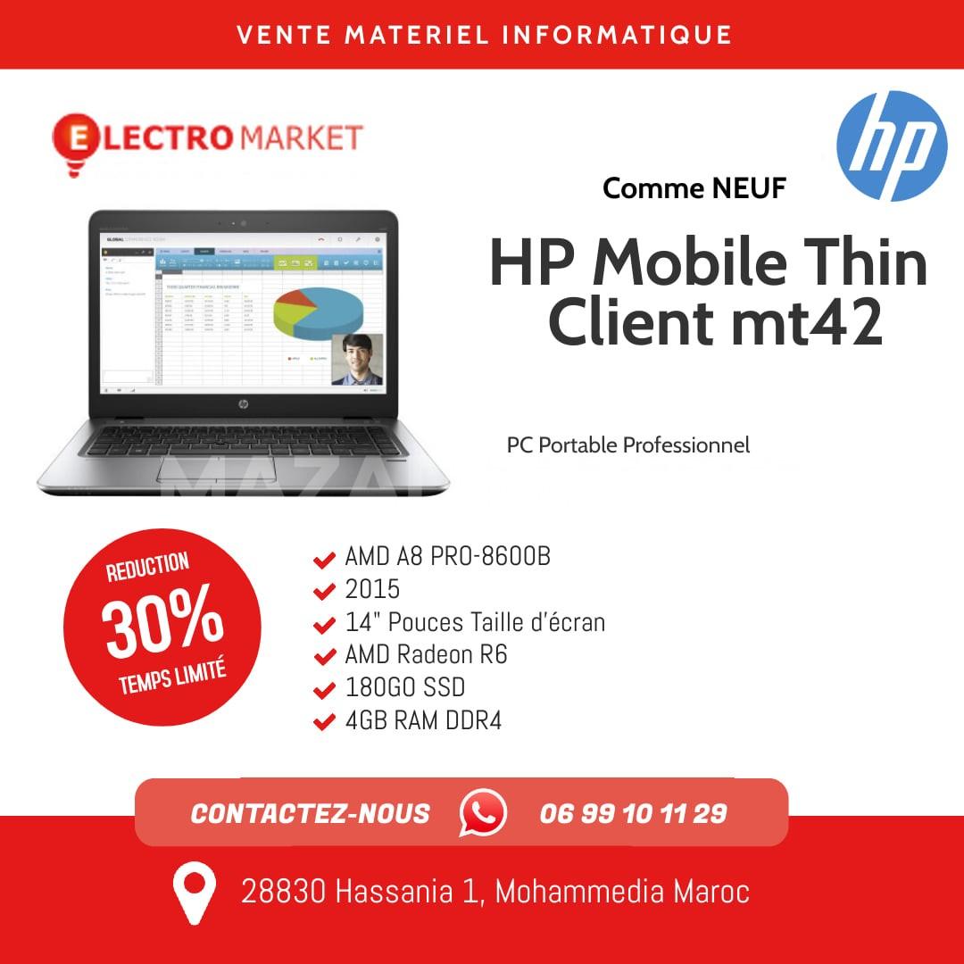 vente  pc portableHP Mobile Thin Client mt42