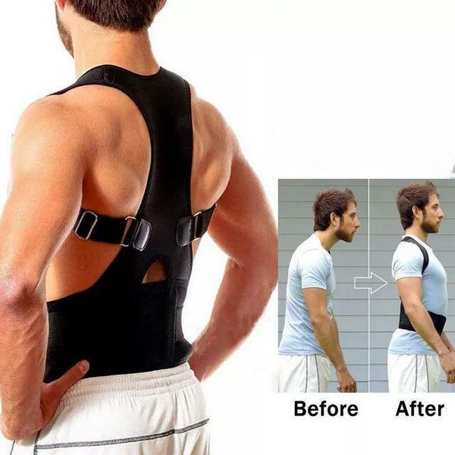 حزام يمكنك بان تبقى مستقيم الظهر طول اليوم وفي مختلف الوضعيات