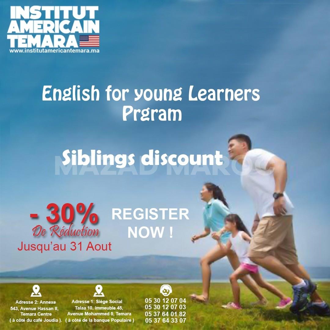 - Cours d'anglais pour Enfants dès le Primaire - American Institute Temara