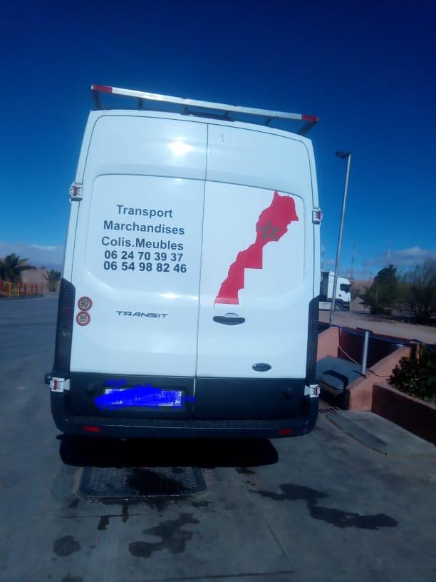 Transport marchandies نقل البضائع نحو جميع الجهات