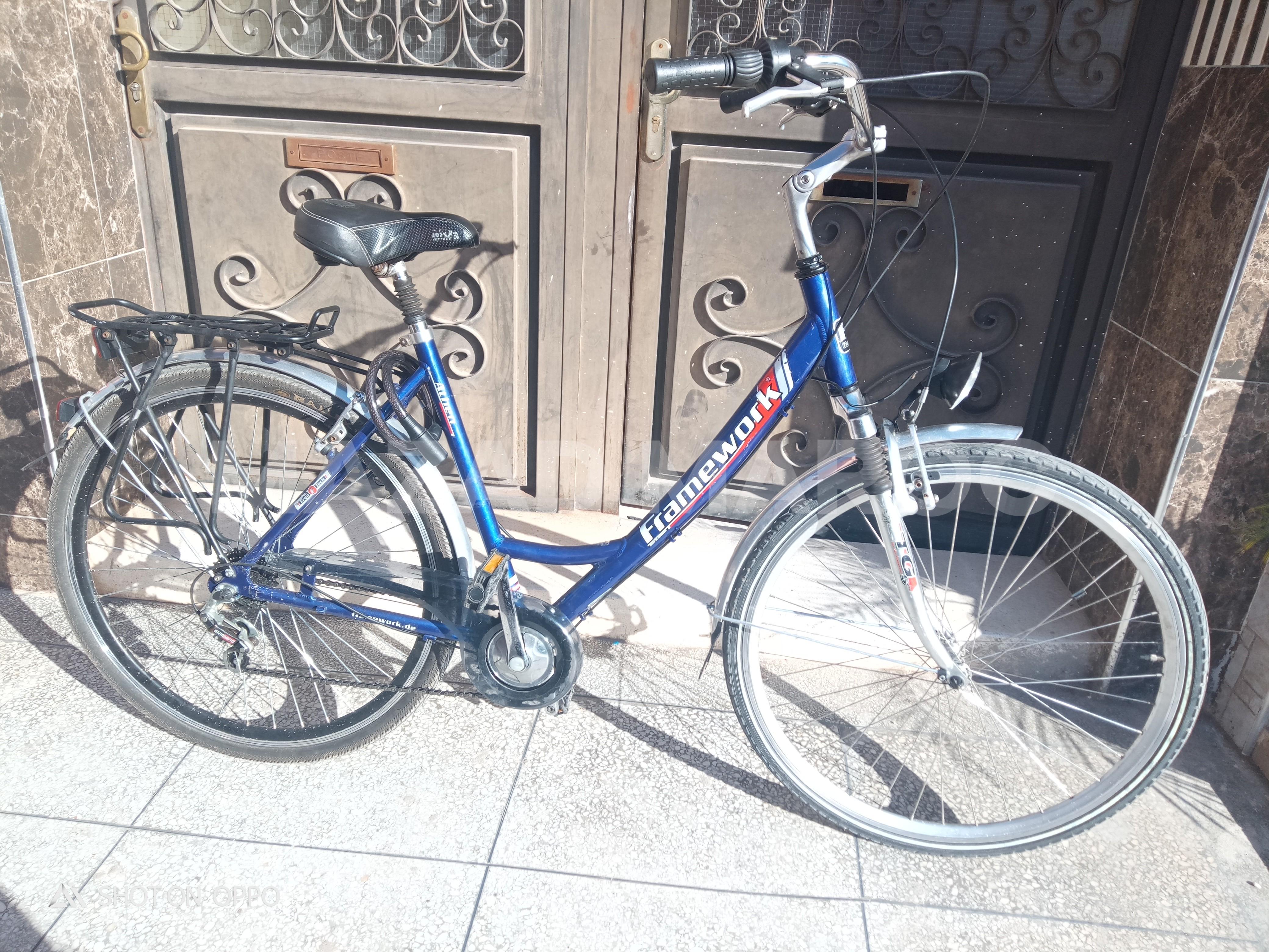 Vélo madame fram work