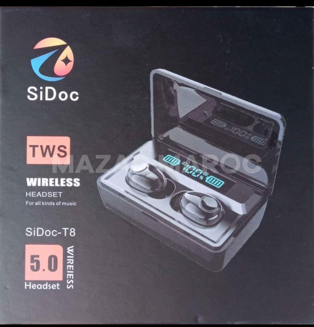 Écouteurs bluetooth Sidoc-T8