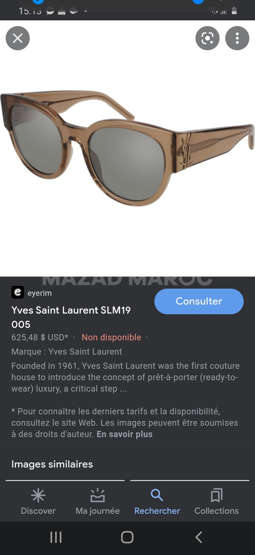 Lunutte Yves saint Laurent