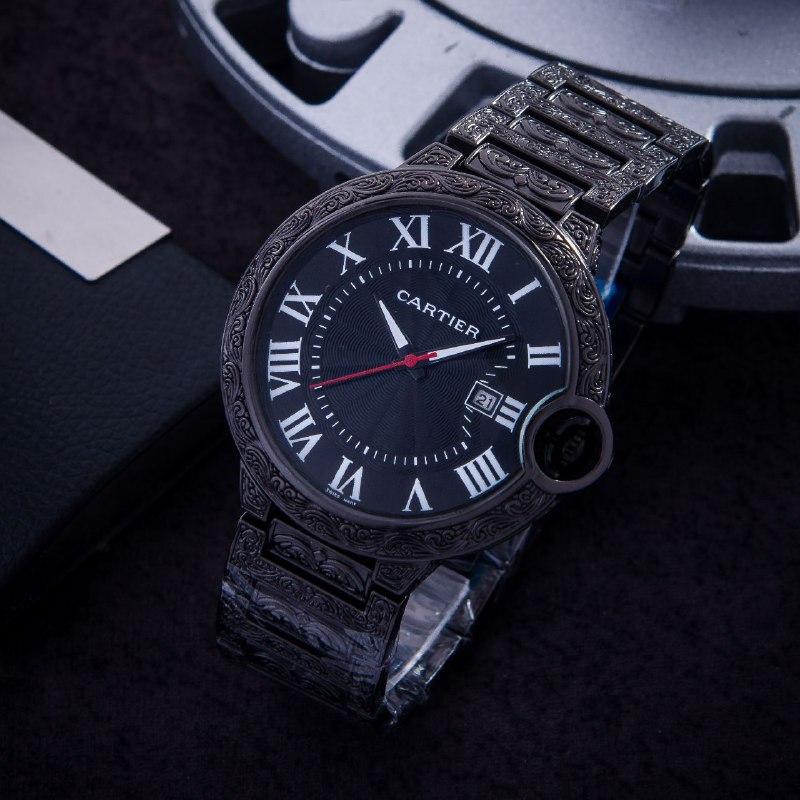ساعة كارتي المنقوشة رجالية