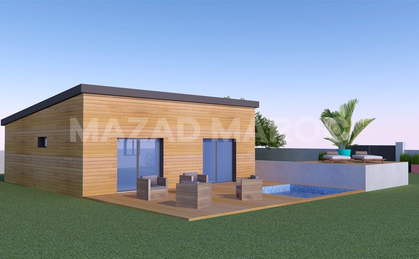 Réalisation maison en bois