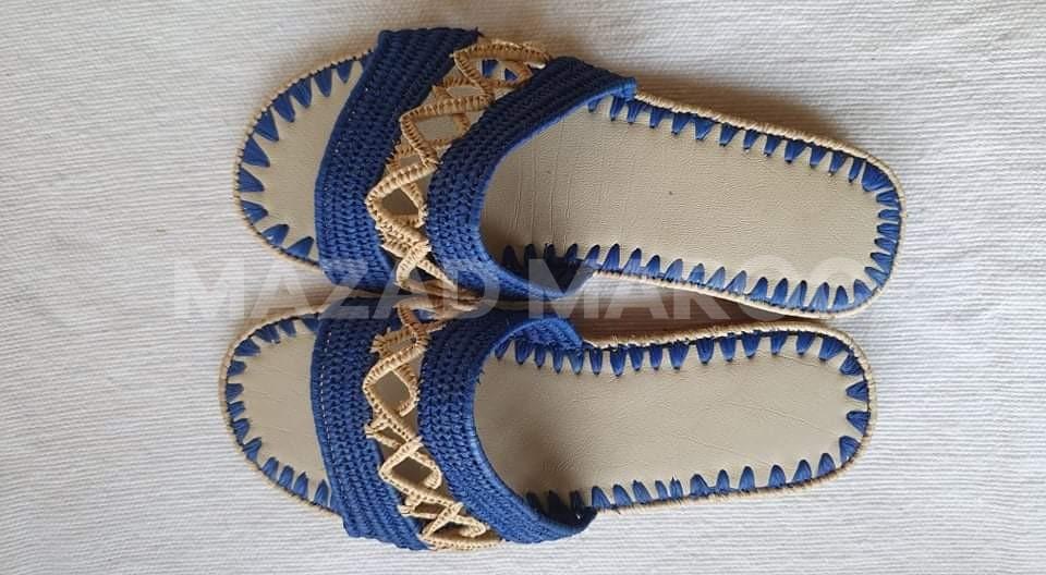 Sandales raphia